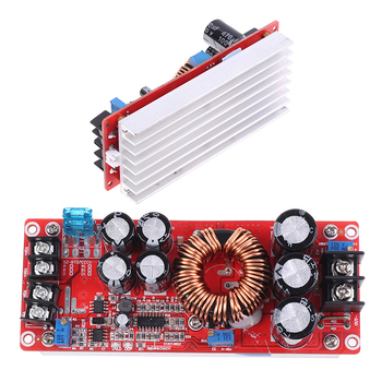 1200W 20A, DC-DC Converter Boost Auto Step-up Napájecí Modul 8-60V do 12-83V