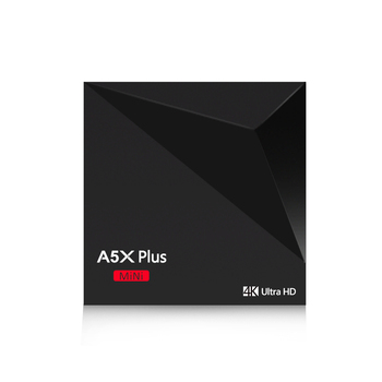 5kusů/lot A5X Plus Mini RK3328 smart android tv box silná WiFi 2.4 G Android 9.0 TV Box A5X Plus